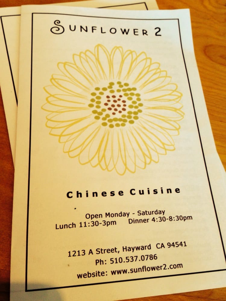Hayward (CA) United States  city images : Sunflower 2 Chinese 1213 A St Hayward, CA, United States Yelp