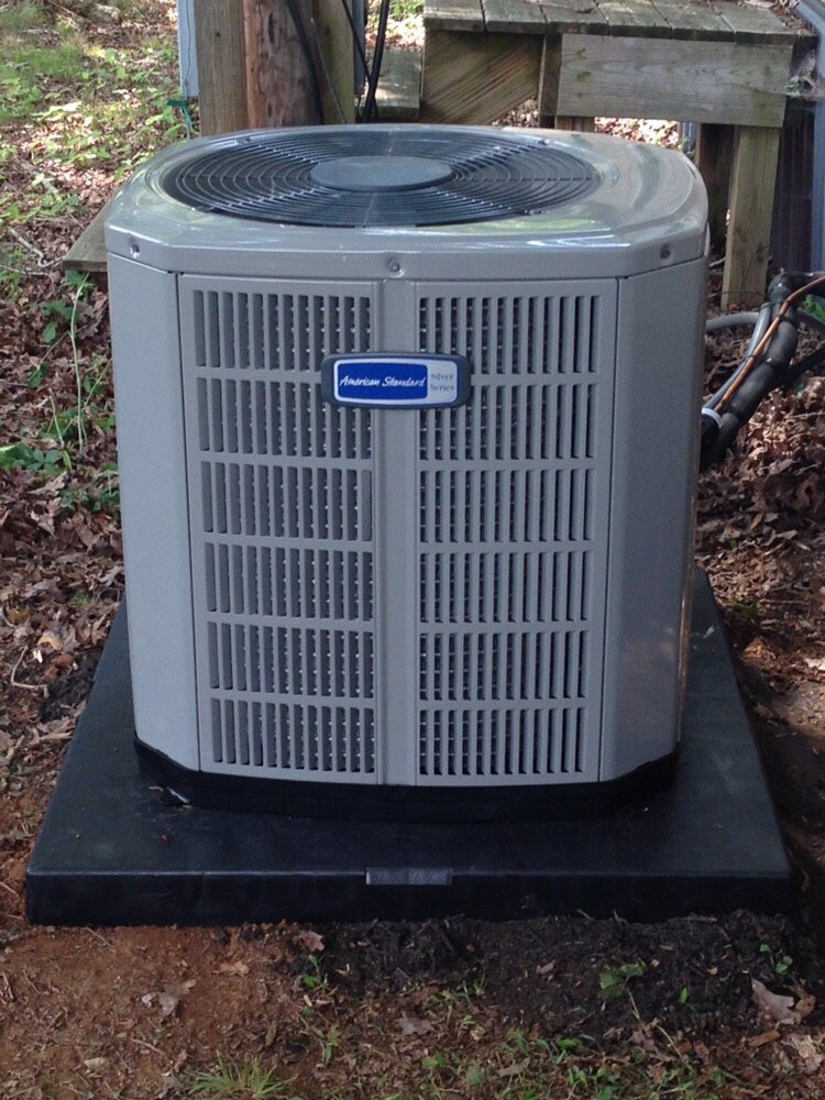 Newly installed American Standard air conditioner  - Yelp
