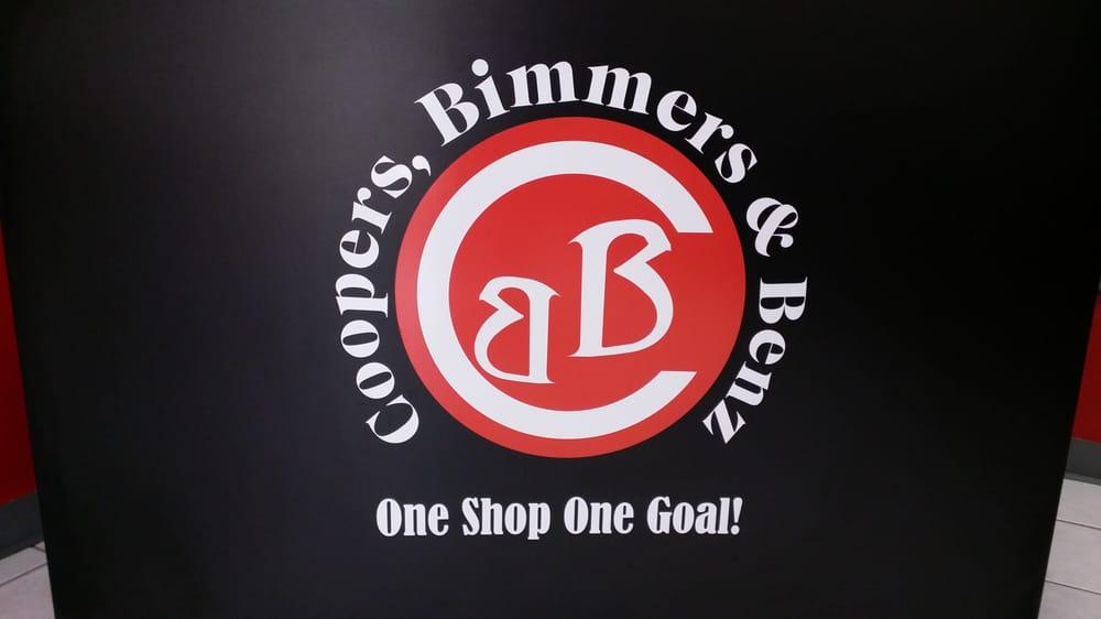 Coopers, Bimmers & Benz