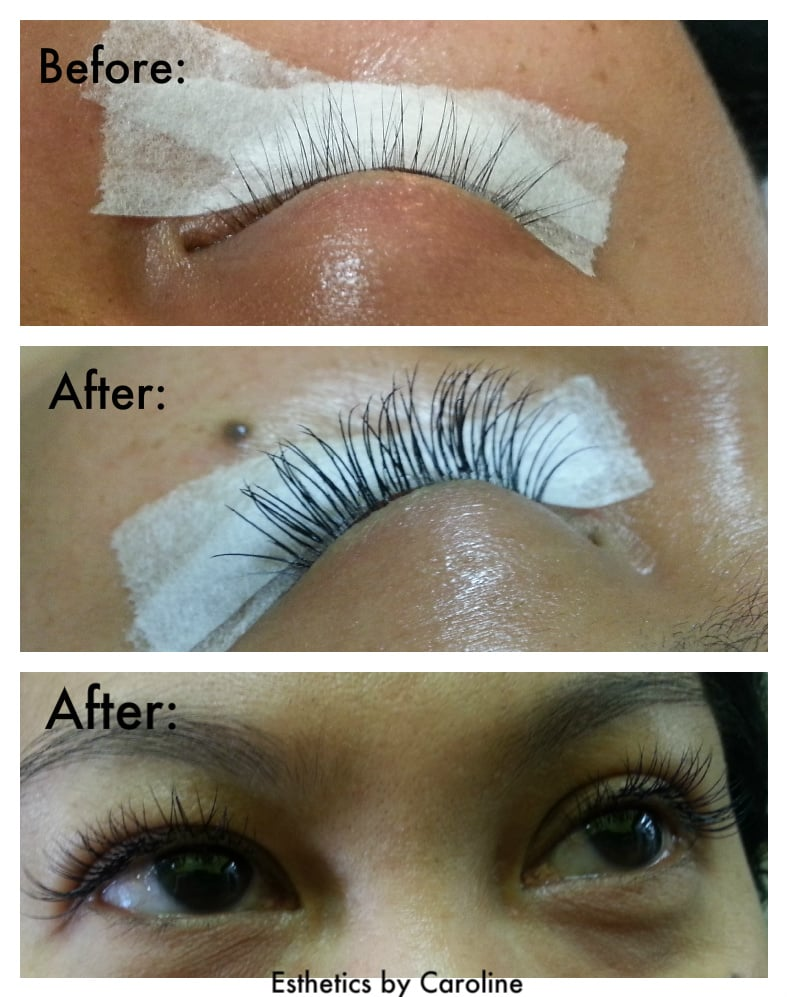 Soft And Natural Individual Eyelash Extensions By Esthetics By