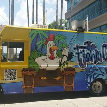 Fishin Chicken Food Truck Menu