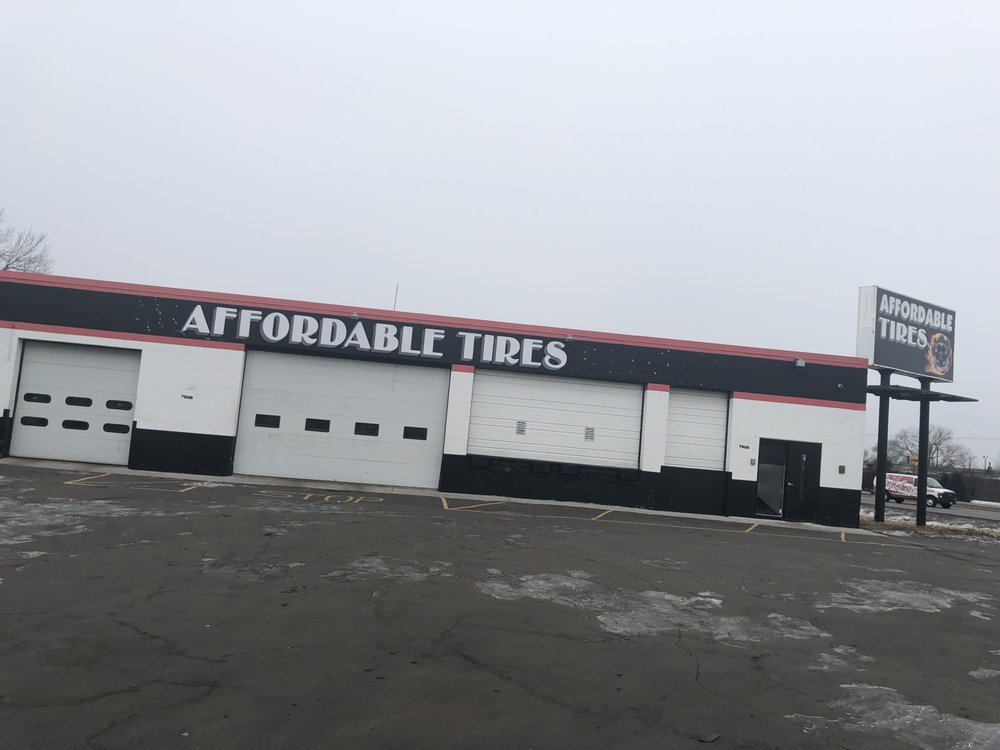 Affordable Tires: 7609 73rd Ave N, Brooklyn Park, MN