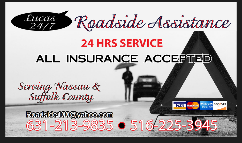 Lucas 24/7 Roadside Assistance: Central Islip, NY
