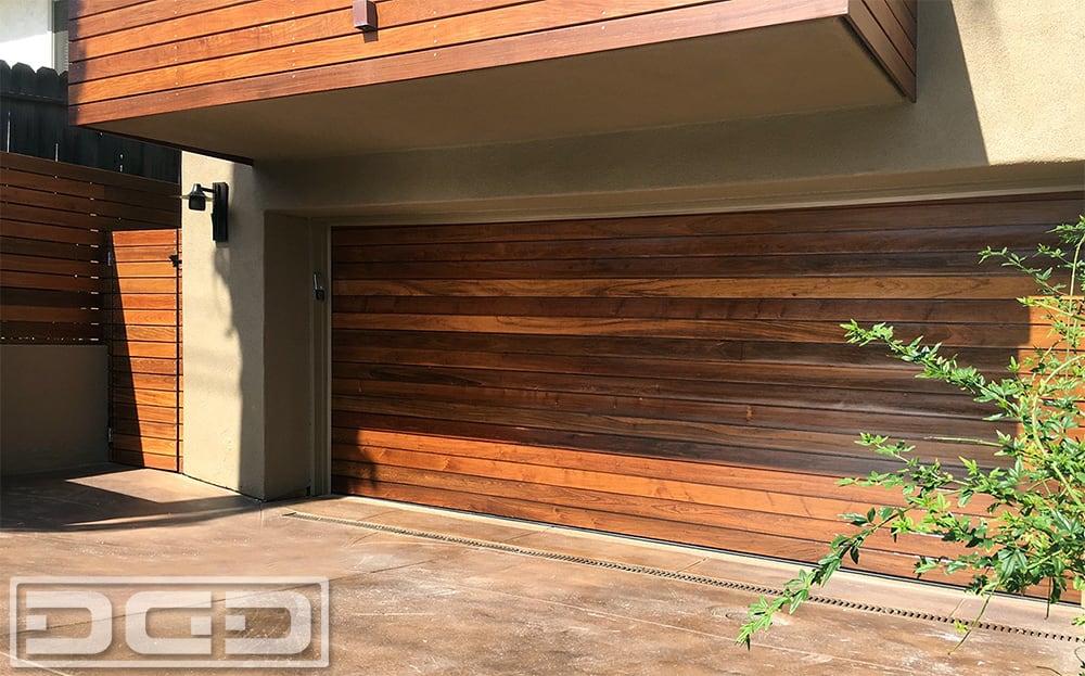 Ipe Wood Modern Garage Doors Designed Amp Manufactured For