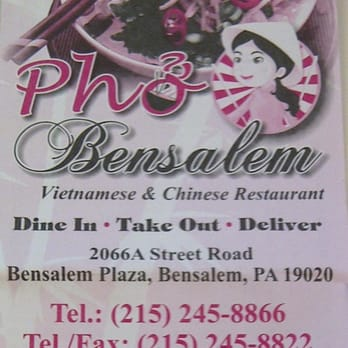 Chinese Food Delivery In Bensalem Pa