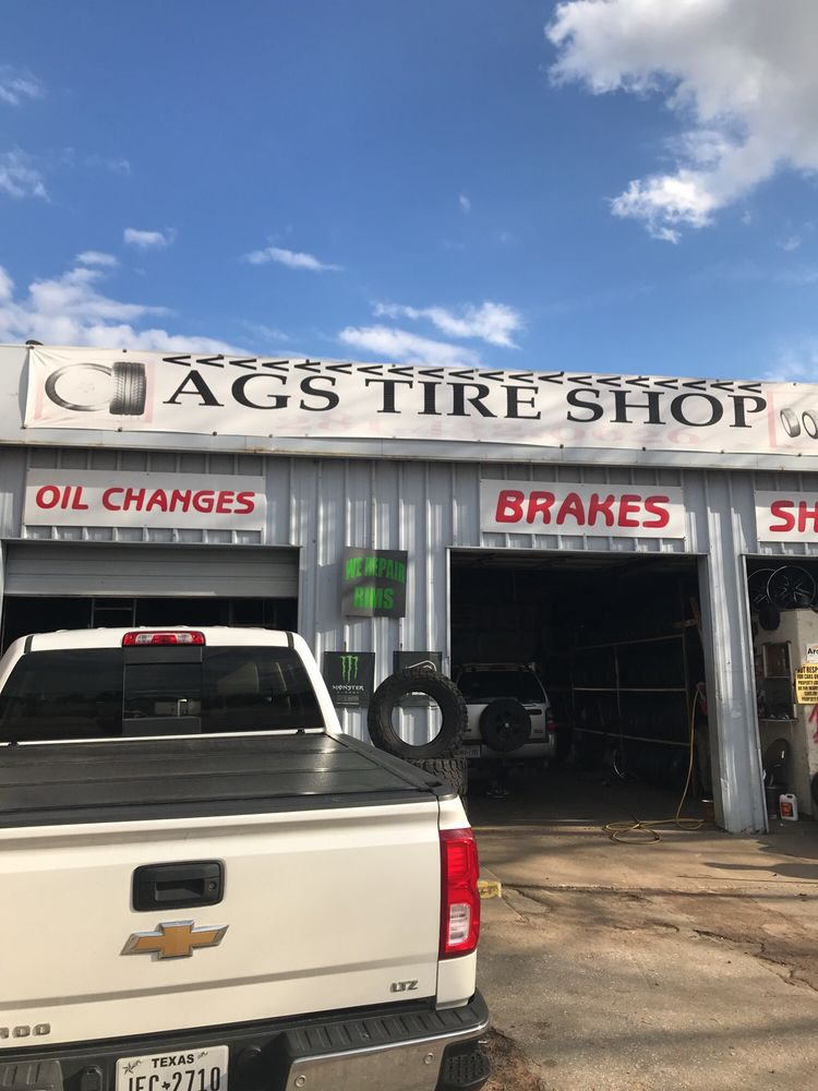 AGS Tire Shop: 307 S Washington Ave, Cleveland, TX