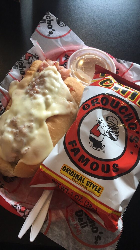 Food from Groucho's Deli