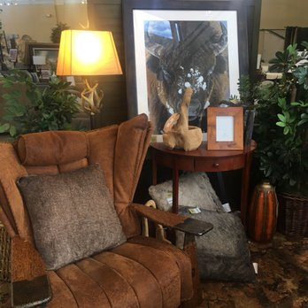 Photo Of Furniture Row   Clarksville, IN, United States. Buffalo Hide Chair  For