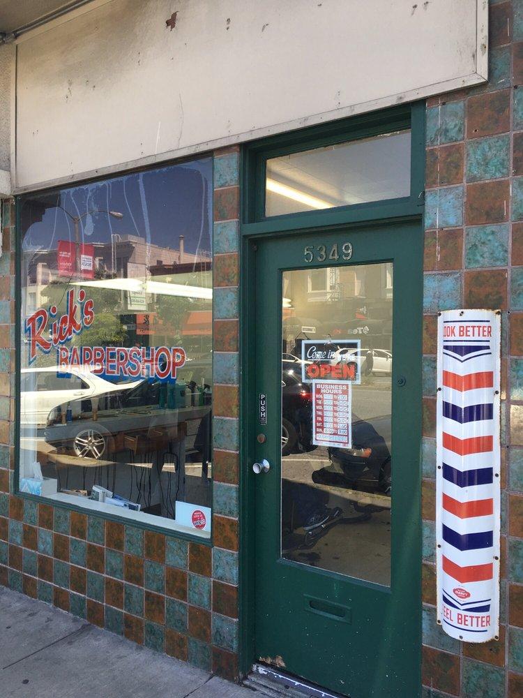 Rick's Barbershop: 5349 Geary Blvd, San Francisco, CA