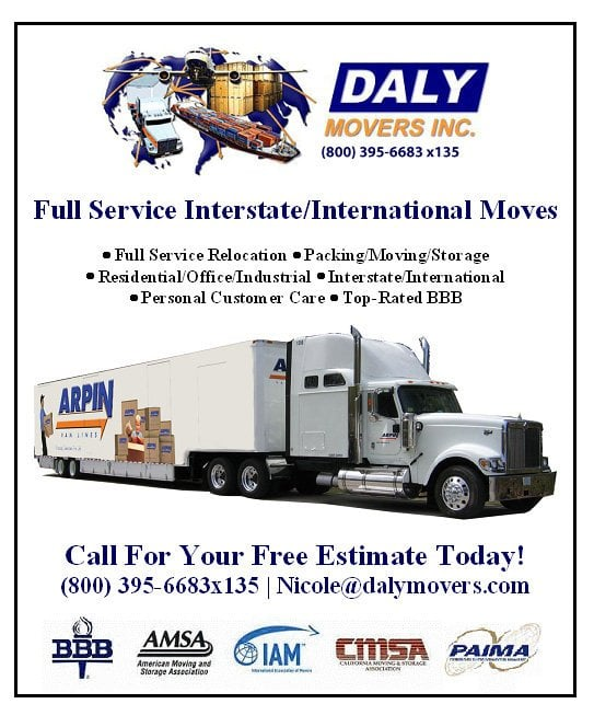 Photos For Daly Movers Inc Yelp