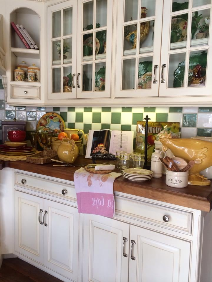 A La Maison Westlake Village Of French Kitchen With Custom Cabinetry Yelp