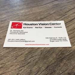 Houston vision center eyewear opticians 530 hwy 6 sugar land photo of houston vision center sugar land tx united states call us reheart Images