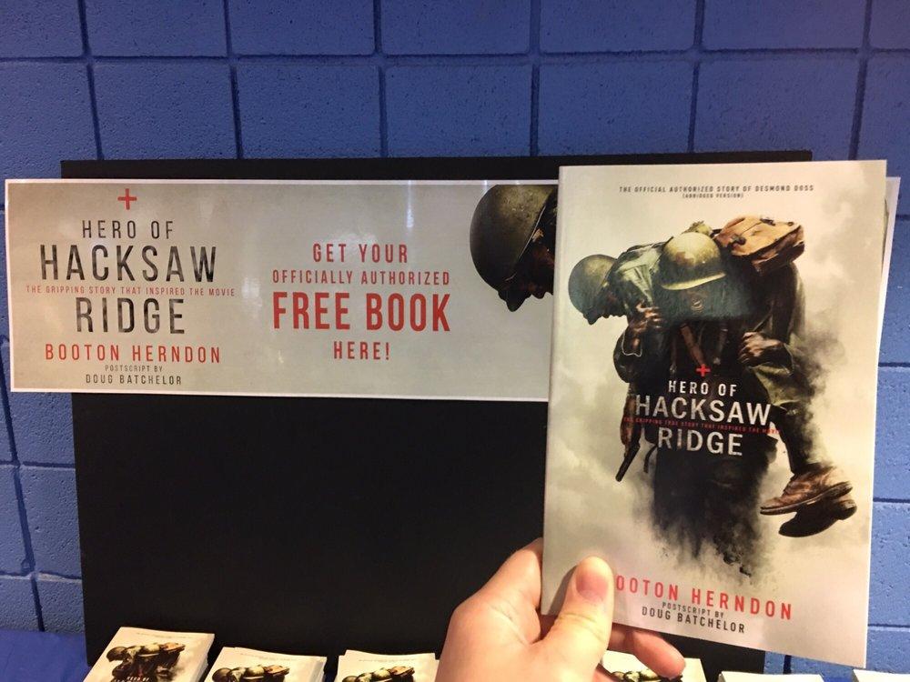 Free Hacksaw Ridge Books at Emagine Novi - Yelp