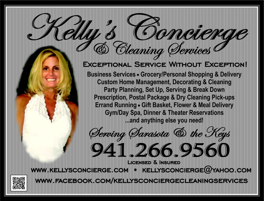 Kelly's Concierge & Cleaning Services - Home Cleaning - Sarasota, FL -  Phone Number - Yelp
