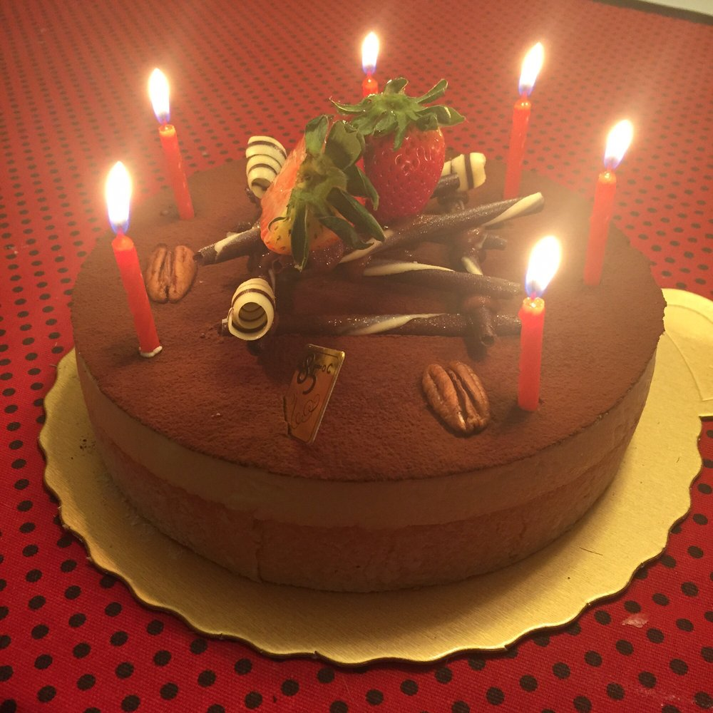 Birthday Cake From 85 Degree Bakery Yummy Yelp