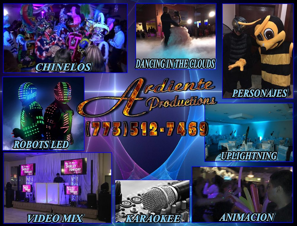 Ardiente Productions Fiesta Entertainment