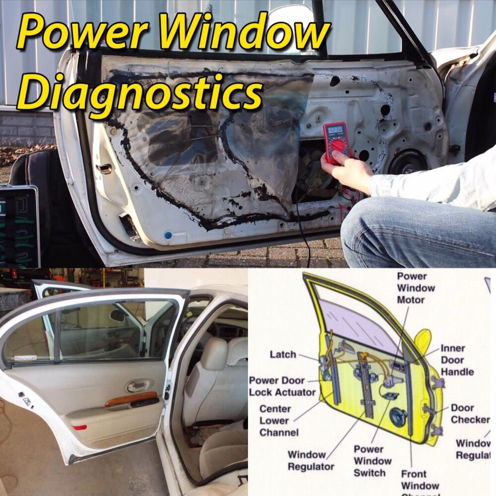 We specialize in electrical troubleshooting, power window
