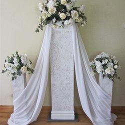 Wedding pillars and petals 19 photos party equipment rentals photo of wedding pillars and petals new lenox il united states three solutioingenieria Images
