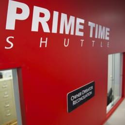 LAX super shuttle vs prime time shuttle - YouTube