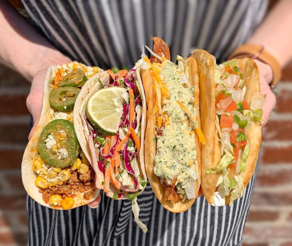 Tacos 4 Life - Collierville: 3565 S Houston Levee Rd, Collierville, TN