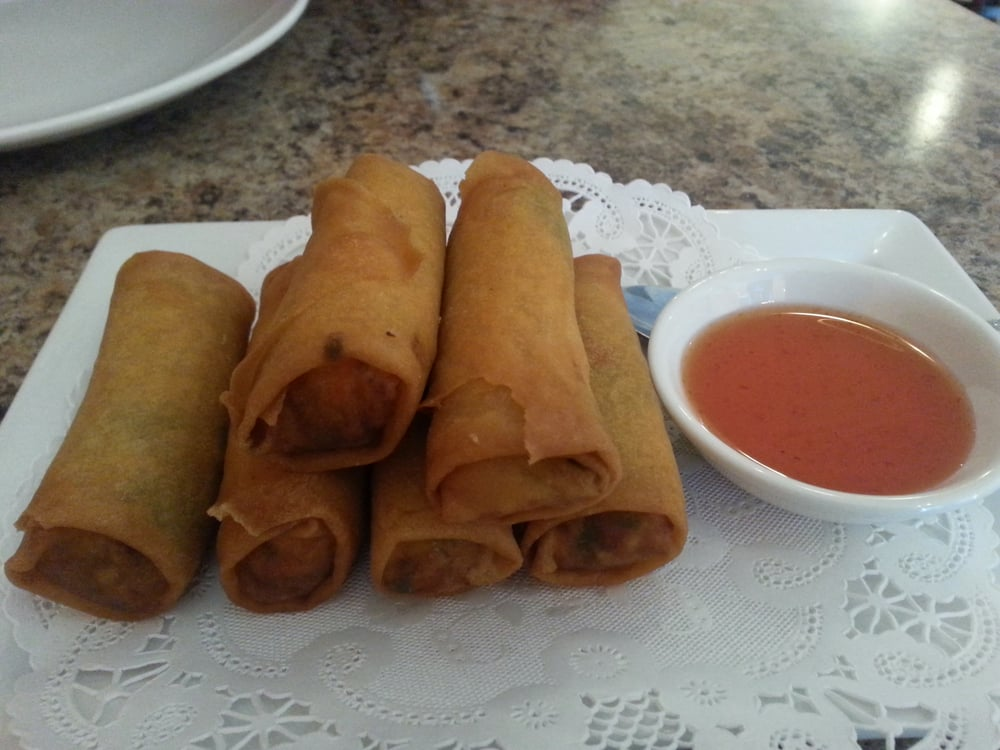 Spring rolls yelp for Arawan thai cuisine menu
