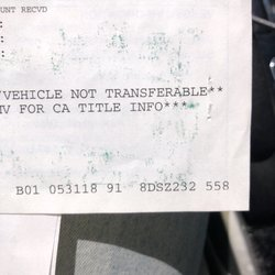 Car Registration Services - (New) 13 Reviews - Registration