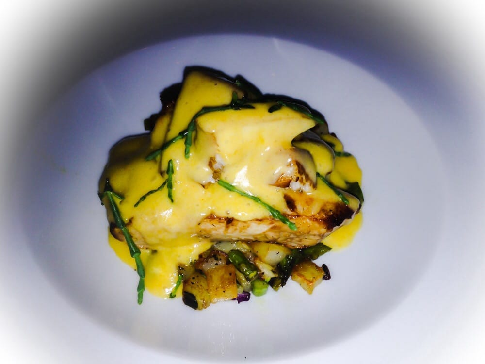 Cobia Belly Of Fish Hollandaise Mild Queso On