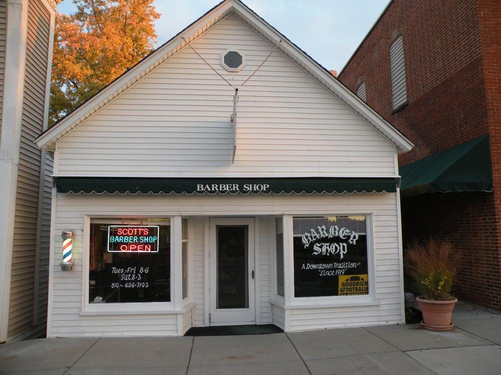Scott's Barbershop: 10233 Hegel Rd, Goodrich, MI