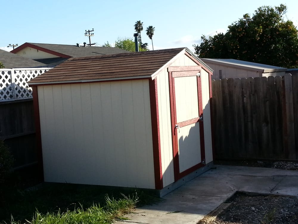 This is the sundance sr 600 8ft by 8ft shed yelp for Tough shed sale