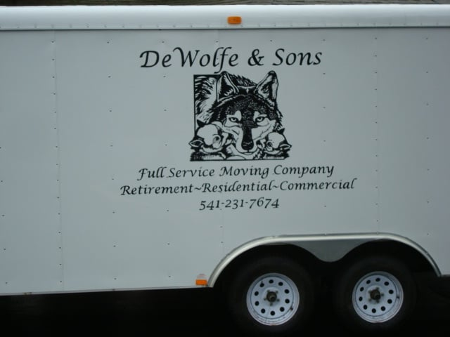 Dewolfe & Sons Moving: 18778 Haines Rd, Alsea, OR