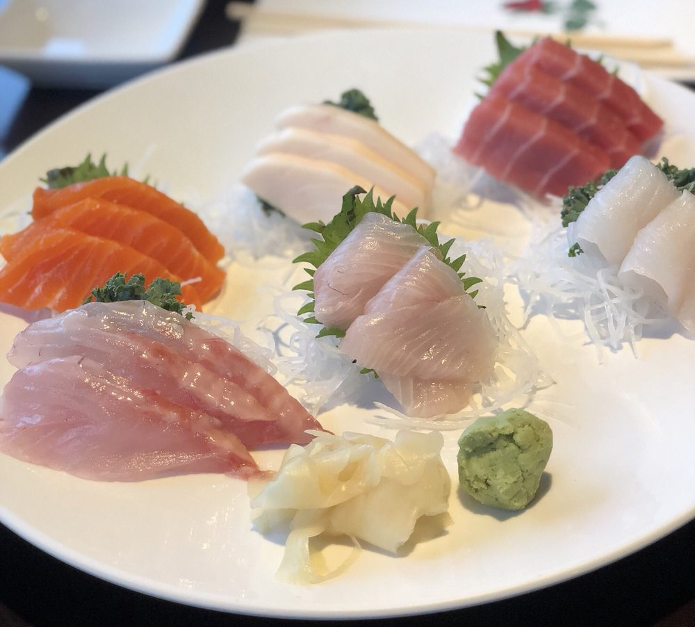 Food from Sushi Palace