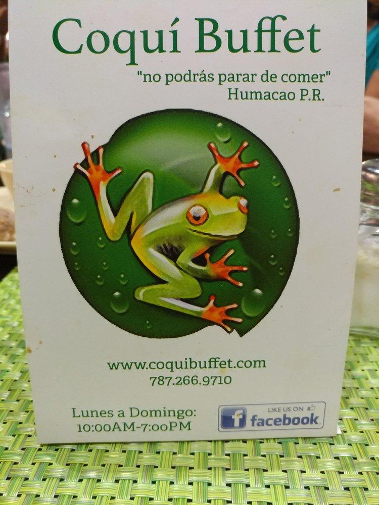 Coqui Buffet: Carr. 924 Km 2.8, Humacao, PR