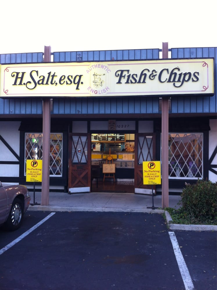 Entrance of h salt fish chips yelp for H salt fish