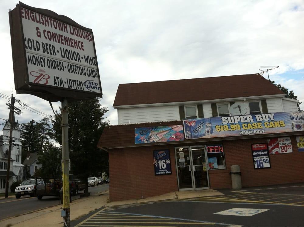 Englishtown Liquors & Convience: 4 Tennent Ave, Englishtown, NJ