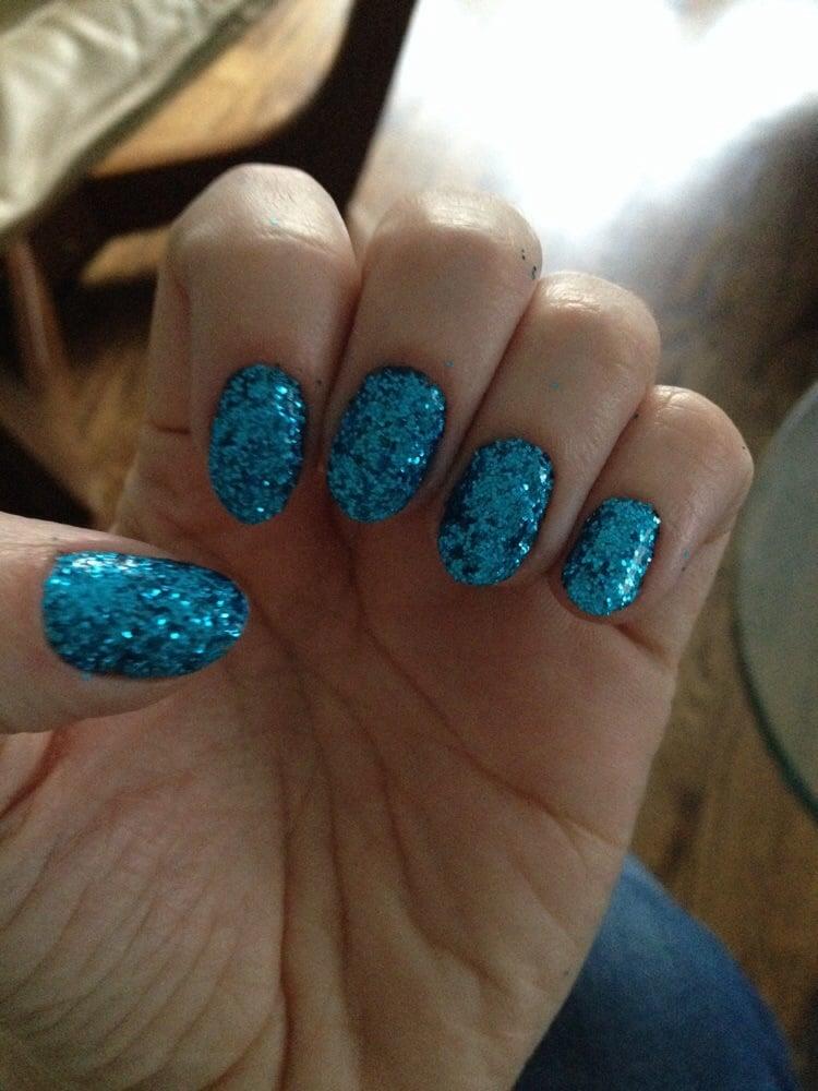 Photo Of Soriya Nails Spa Warwick Ri United States Dip Glitter