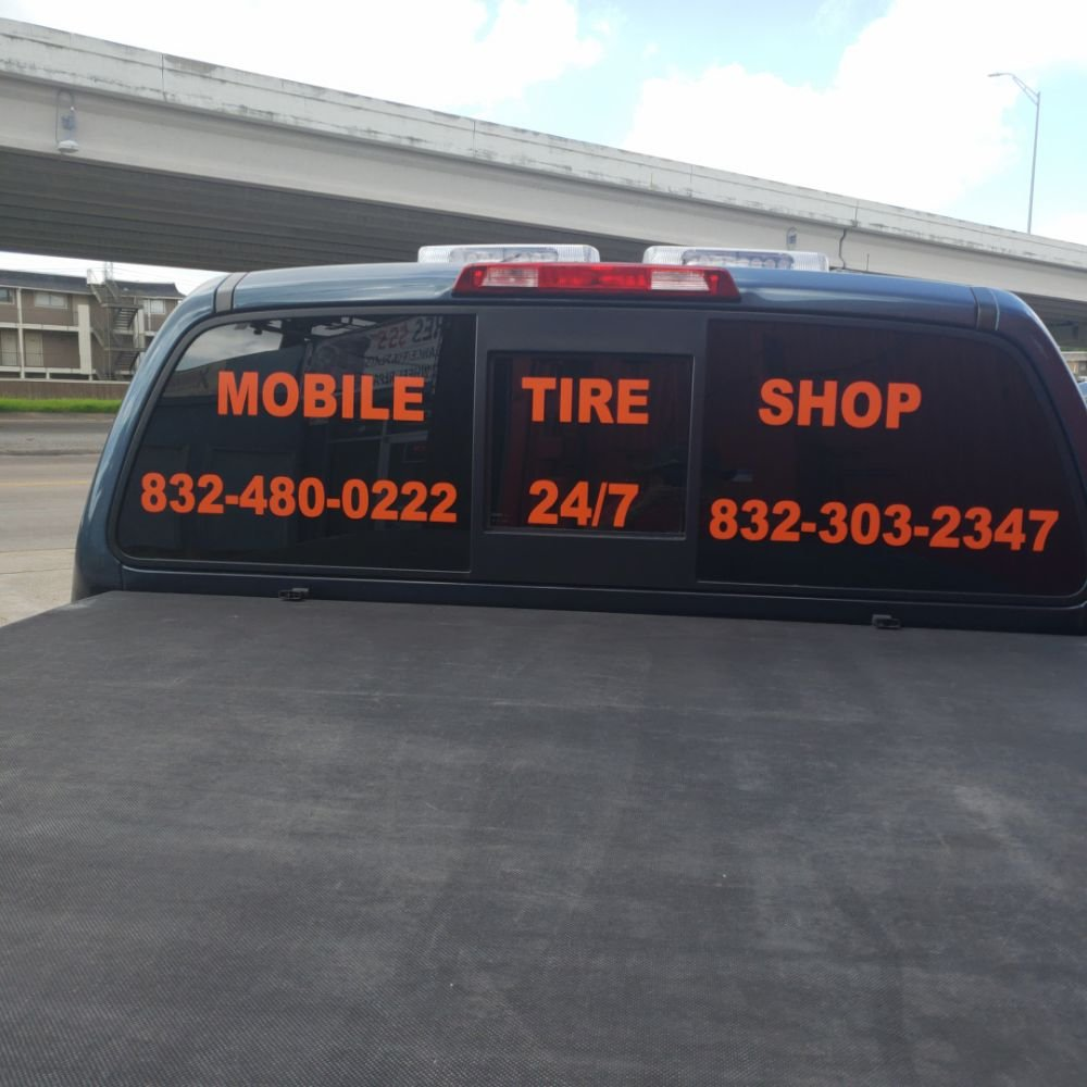 Angel's Mobile Tire Service: Alvin, TX