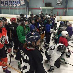 Adult league Saratoga hockey