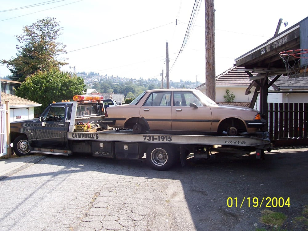 Campbell\'s Scrap Car Pickup - 10 Photos - Junk Removal & Hauling ...
