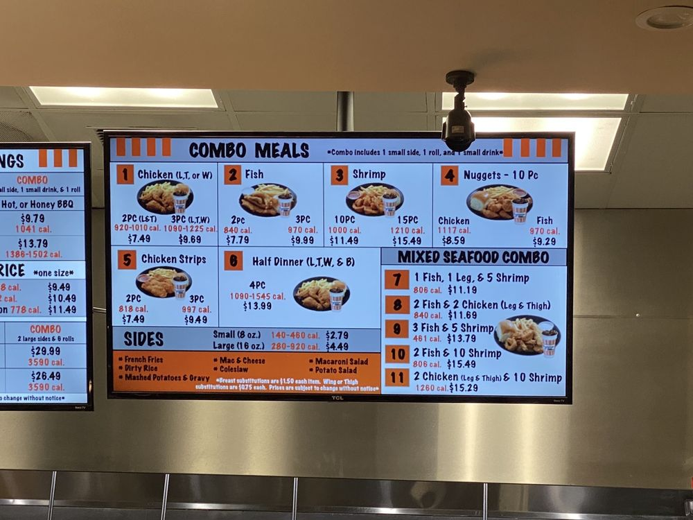 Louisiana Famous Fried Chicken: 4332 Watt Ave, North Highlands, CA