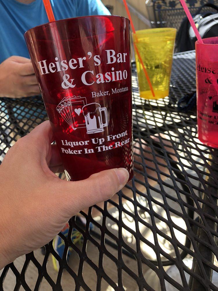 Heiser's Bar & Casino: 9 S Main St, Baker, MT