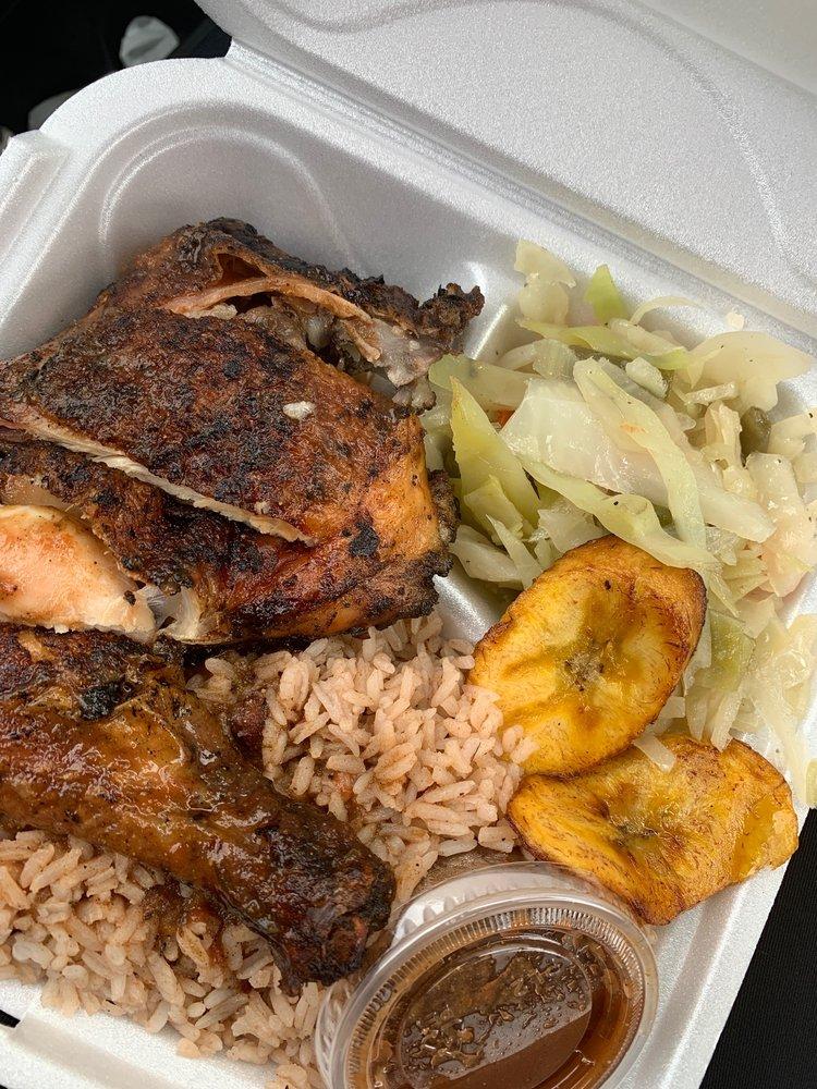 Blues Jamaican Restaurant: 5370 Lanier Islands Pkwy, Buford, GA