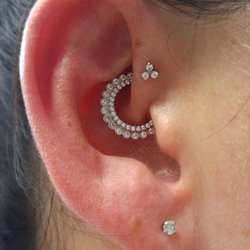 Exotic facial piercing pictures photo 600