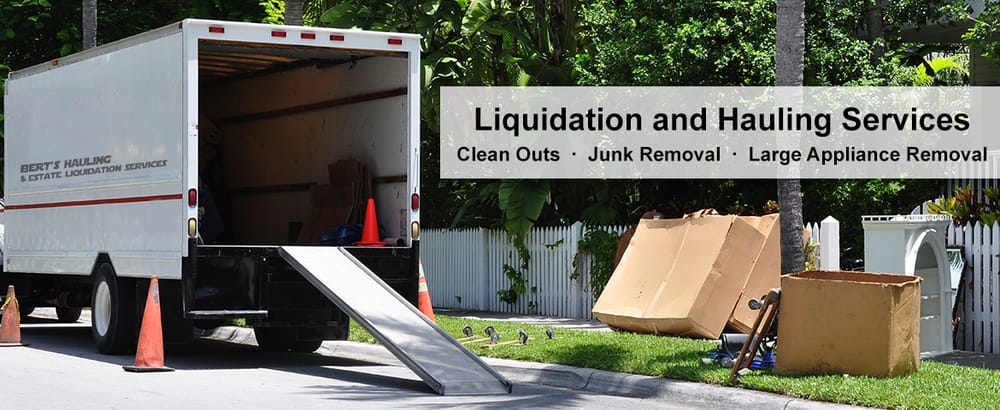 Bert's Hauling and Estate Liquidation Services: 209 Clay Ave, Jeannette, PA