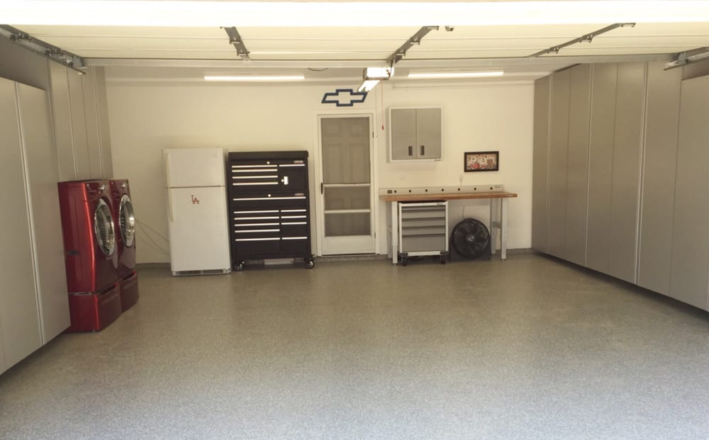 New floor and cabinets yelp for Garage door repair lake forest