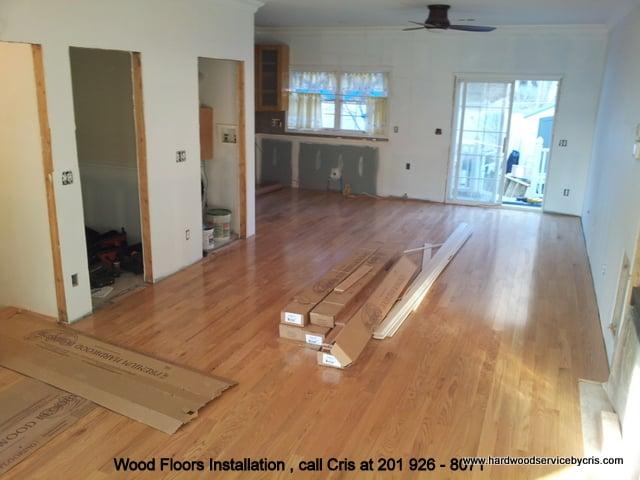 Hardwood Floor Installation By Cris North Bergen Nj Yelp