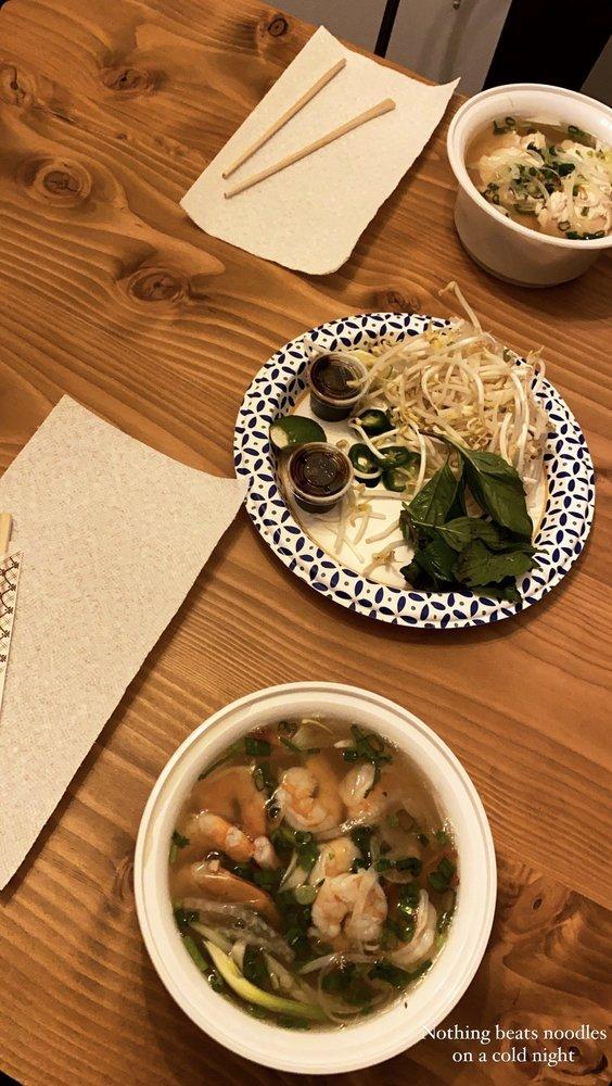 Food from Saigon Pho