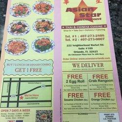 Photo Of Asian Star Restaurant Orlando Fl United States