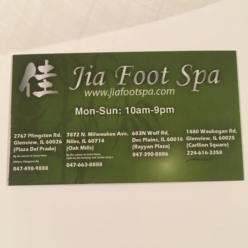 Jia Foot Spa Waukegan