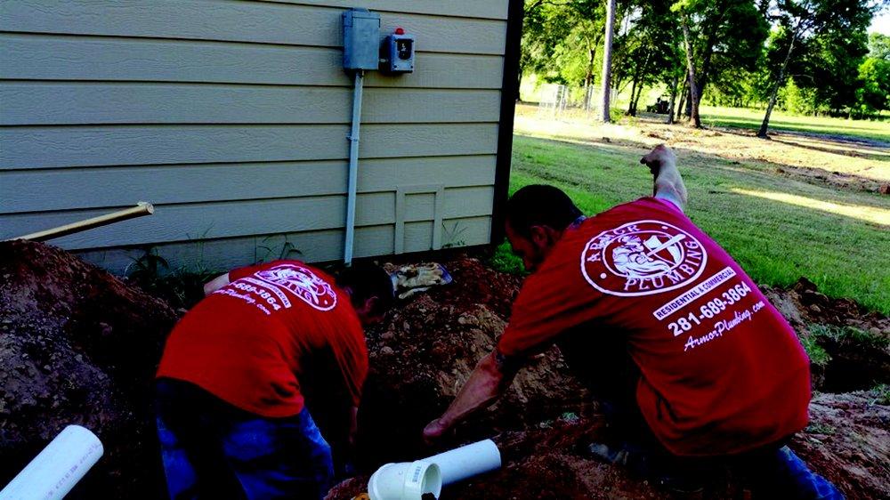 Armor Plumbing: Jewett, TX