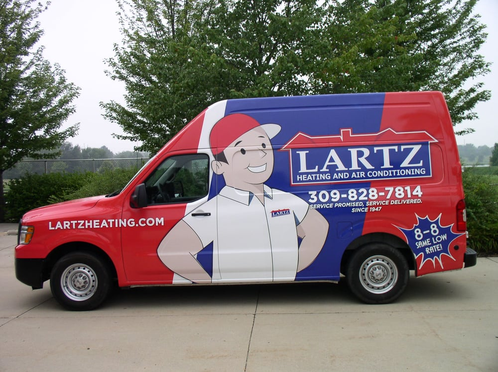 Photo of Lartz Heating And Air: Bloomington, IL